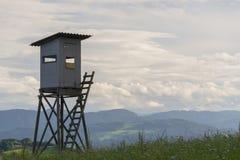 Jagd-Hütte Lizenzfreie Stockfotos