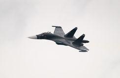 Jagdbomber Su-34 Lizenzfreie Stockfotografie