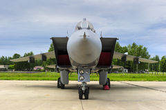 Jagdbomberjet stockfotografie