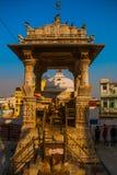 Jagdish Mandir świątynia indu udaipur obraz stock