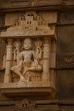 Jagdish Mandir Temple Udaipur, Indien Fragmente von Wänden stockfotografie