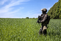 Jagdkommando Austrian special forces Royalty Free Stock Photography