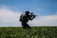 Jagdkommando Austrian special forces Royalty Free Stock Photo