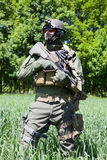 Jagdkommando Austrian special forces Royalty Free Stock Images
