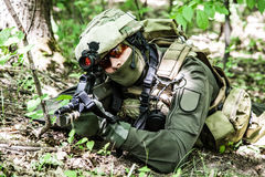 Jagdkommando Austrian special forces Stock Photo