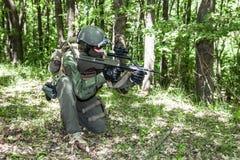 Jagdkommando Austrian special forces Stock Photos