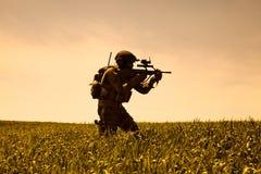 Jagdkommando Austrian special forces Stock Photography