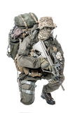 Jagdkommando soldier Austrian special forces Royalty Free Stock Photography
