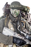 Jagdkommando soldier Austrian special forces Royalty Free Stock Photos