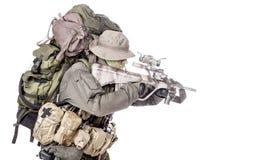 Jagdkommando soldier Austrian special forces Stock Photo