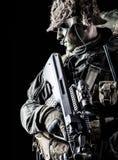 Jagdkommando soldier Austrian special forces Stock Images