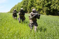 Jagdkommando soldiers special forces Royalty Free Stock Photo