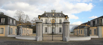 Jagdschloss Falkenlust Stock Images