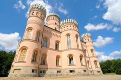 Jagdschloss Granitz, castello in Rugen, Germania Immagine Stock Libera da Diritti