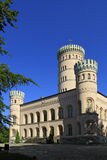 Jagdschloss Granitz, Ruegen-Eiland Stock Foto's