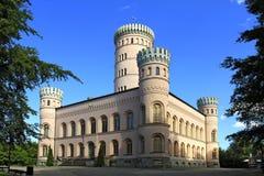 Jagdschloss Granitz, Ruegen-Eiland Stock Foto