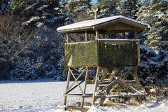 Jagdturm Lizenzfreies Stockfoto