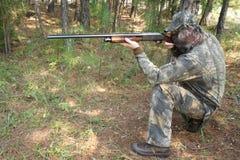 Jager die - jaagt Stock Afbeelding