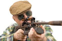Jager, schuttersluipschutter Stock Foto