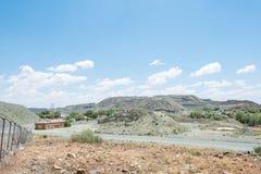 Jagersfontein diamond mine Stock Photos
