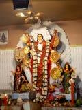 Jaggadhatri-Idol lizenzfreies stockbild