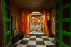 Jagganath-Tempel, Varanasi stockfotografie
