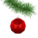 Jagged Christmas Ball Stock Photos