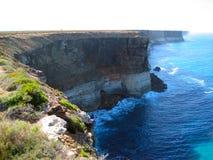 Jagged cliffs Royalty Free Stock Photo