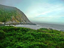 Jagged Coast Line royalty free stock images