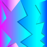 Jagged 3D Background Royalty Free Stock Photo