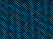 Jagged edge seamless geometric pattern. Vector repeating texture with squama triangles. Stock Images