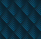 Jagged edge seamless geometric pattern. Vector repeating texture with squama triangles. Royalty Free Stock Image