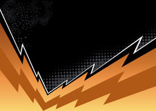 Jagged flash background Royalty Free Stock Photo