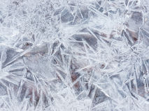 Jagged Ice Texture Royalty Free Stock Image