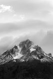 Jagged Mountain Peaks - Torres del Paine National Park - Chile Stock Photography