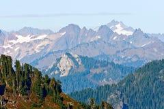 Jagged Peaks Stock Image