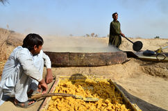 Jagger Making in Pakistan! Stock Image