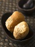 Jaggery balls Royalty Free Stock Image