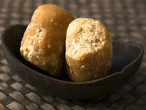 Jaggery balls Stock Images