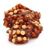 Jaggery Candy with peanuts Stock Photography