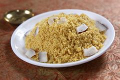 Jaggery, par boiled rice  sweet, Vellap Puttu. Par boiled rice might sound like its precooked, but it`s not, instead its processed quite differently. When the Royalty Free Stock Photo
