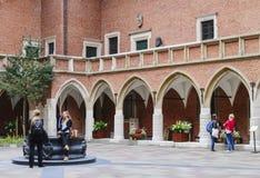 The Jagiellonian University.  Collegium Maius Royalty Free Stock Photo