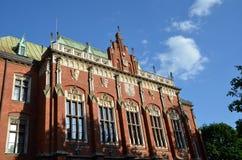 Collegium Novum. Jagiellonian University, Collegium Novum, Krakow, Poland Stock Photo