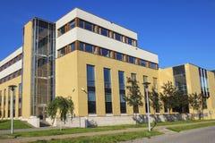 The Jagiellonian University, Krakow, Poland  Modern campus build Stock Images