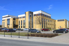 The Jagiellonian University. Modern campus buildings. Stock Images