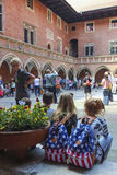 The Jagiellonian University. The oldest university in Poland Royalty Free Stock Image