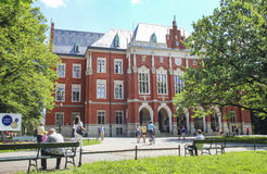 The Jagiellonian University. The oldest university in Poland Stock Photos