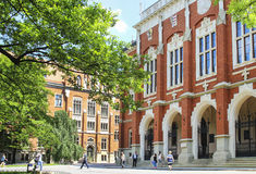 The Jagiellonian University. The oldest university in Poland Stock Image