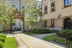 The Jagiellonian University. The oldest university in Poland Royalty Free Stock Photo