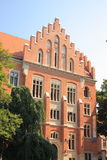 Jagiellonianuniversiteit in Krakau, Collegium Novum Stock Foto's